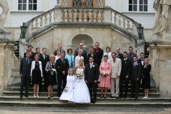 naši drazí a milovaní svatebčané