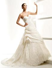 la sposa-leganes - moje původní šaty na modelce