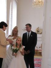 s tatínkem a dcerou