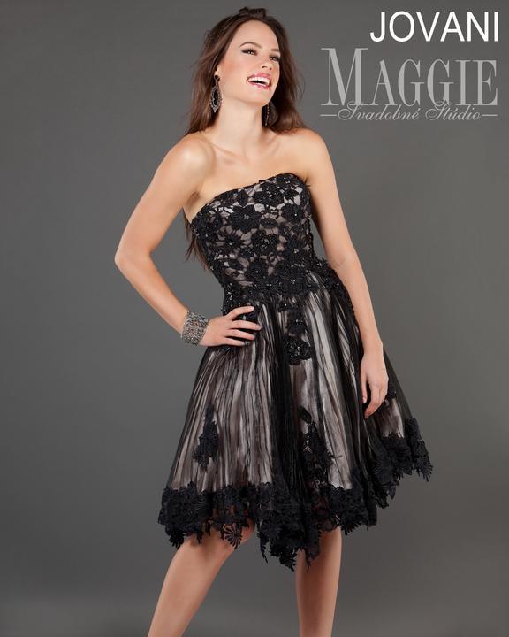 Nové spoločenské šaty v Svadobnom štúdiu MAGGIE v Košiciach - Jovani SABINA  -  b030ce561f2