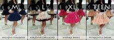 Dolly sukňa - Snehová kráľovná - veľ.XL(36-40), XL