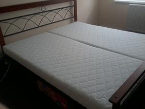 matrace uz na svojom mieste