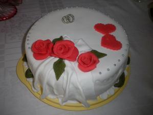 nasa zasnubna torta, robila ju mamina