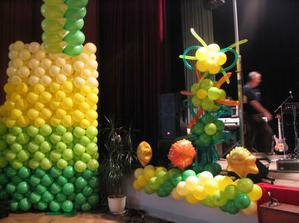 aj balóny budú