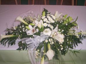 kvety na stôl