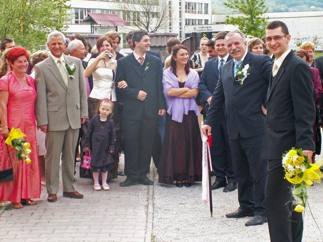 Zuzka Tesáčeková{{_AND_}}Janko Korček - odobierka nevesty...