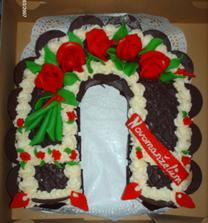 ..svatební dort..