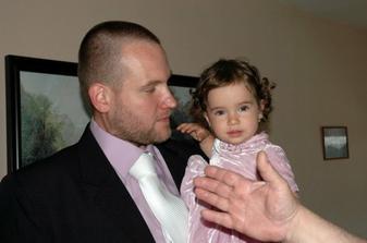 ženich s naší malou princeznou :-))
