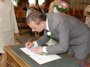 Péťův podpis