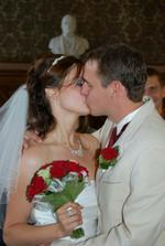 první novomanželský...byl taaak sladký