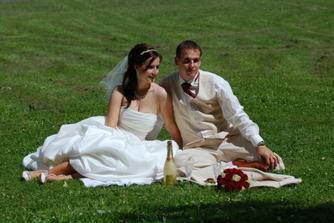 a co takhle piknik v trávě??? No paráda...