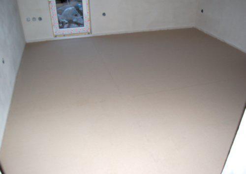 Náš domek - litá podlaha
