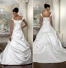 Svatebí šaty - už jsou doma....jsou moc pěkné ;-)