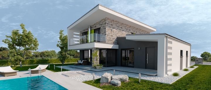 Montované domy - Fotka skupiny