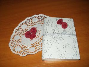 notýsek - svatební kniha
