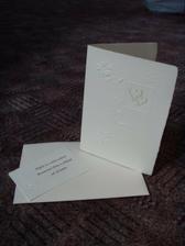 oznámení - ruční papír