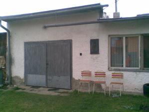 garáž s vaškuchynkou