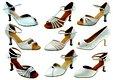 Svatební/taneční boty mnoha stylů, vel. 34-42,5 , 41