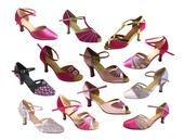Taneční boty mnoha stylů vel. 34-42,5 , 35