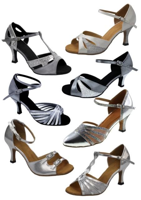 Společenské taneční boty vel. 34-42,5 - Obrázek č. 1