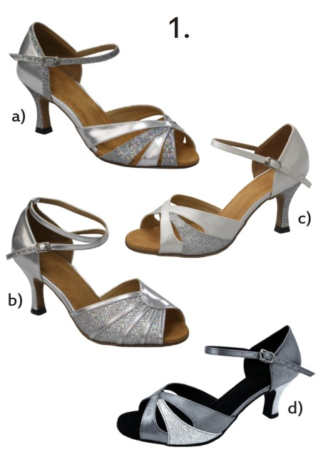 Společenské taneční boty vel. 34-42,5 - Obrázek č. 2