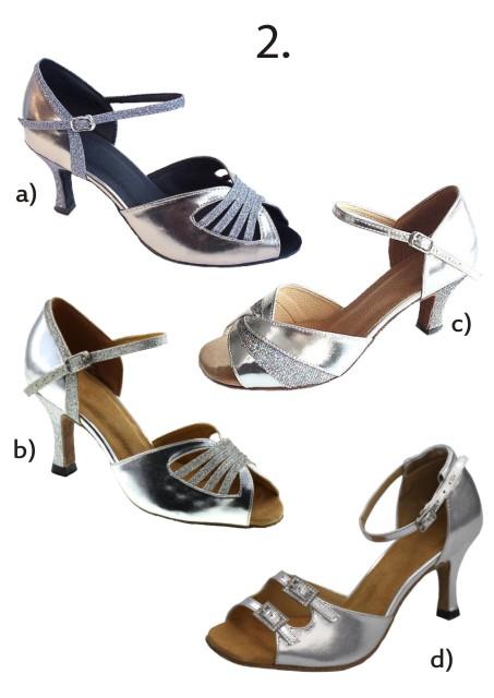 Společenské taneční boty vel. 34-42,5 - Obrázek č. 3