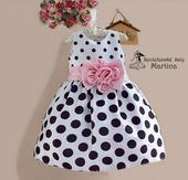 Společenské šaty pro družičku 3-8 let, 110