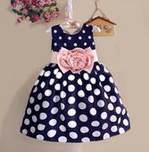 Společenské šaty pro družičku 3-8 let, 116