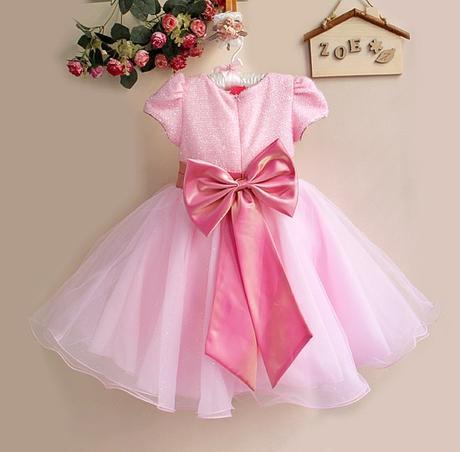 Společenské šaty pro družičku 2-8 let - Obrázek č. 2
