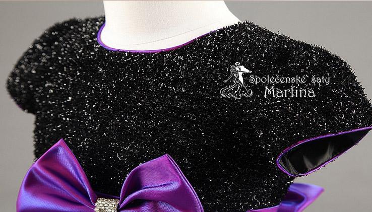 Společenské šaty pro družičku 2-8 let - Obrázek č. 3