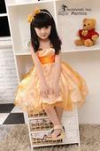 Společenské šaty pro družičku 3-7 let, 116