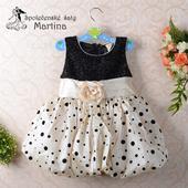 Společenské šaty pro družičku 2-4 roky, 86