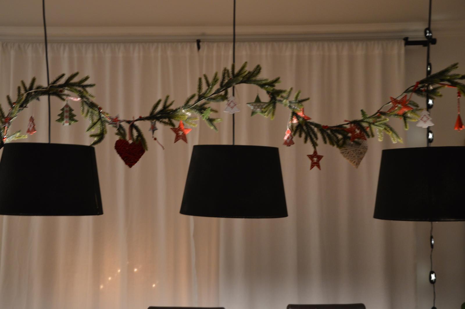 ★☆★Adventný a vianočný čas u nás ... ★☆★ 2015, 2016 - načo sú dobré tri lampy nad stolom ?