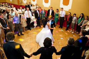 náš první novomanželský tanec :-)