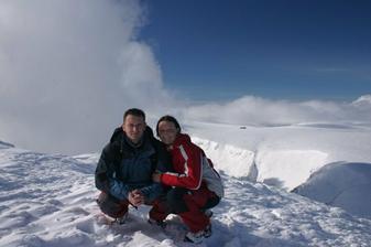 a sv.Valentýn na Sněžce