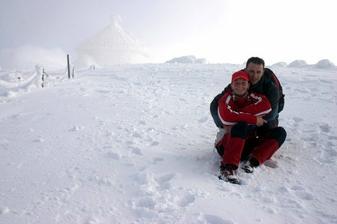 taky sv.Valentýn na Sněžce :-))