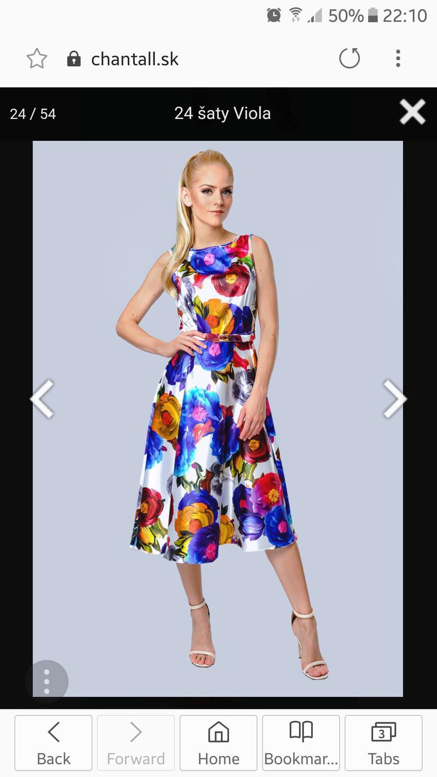 šaty chantall - kolekcia máj 2018 - Obrázok č. 2