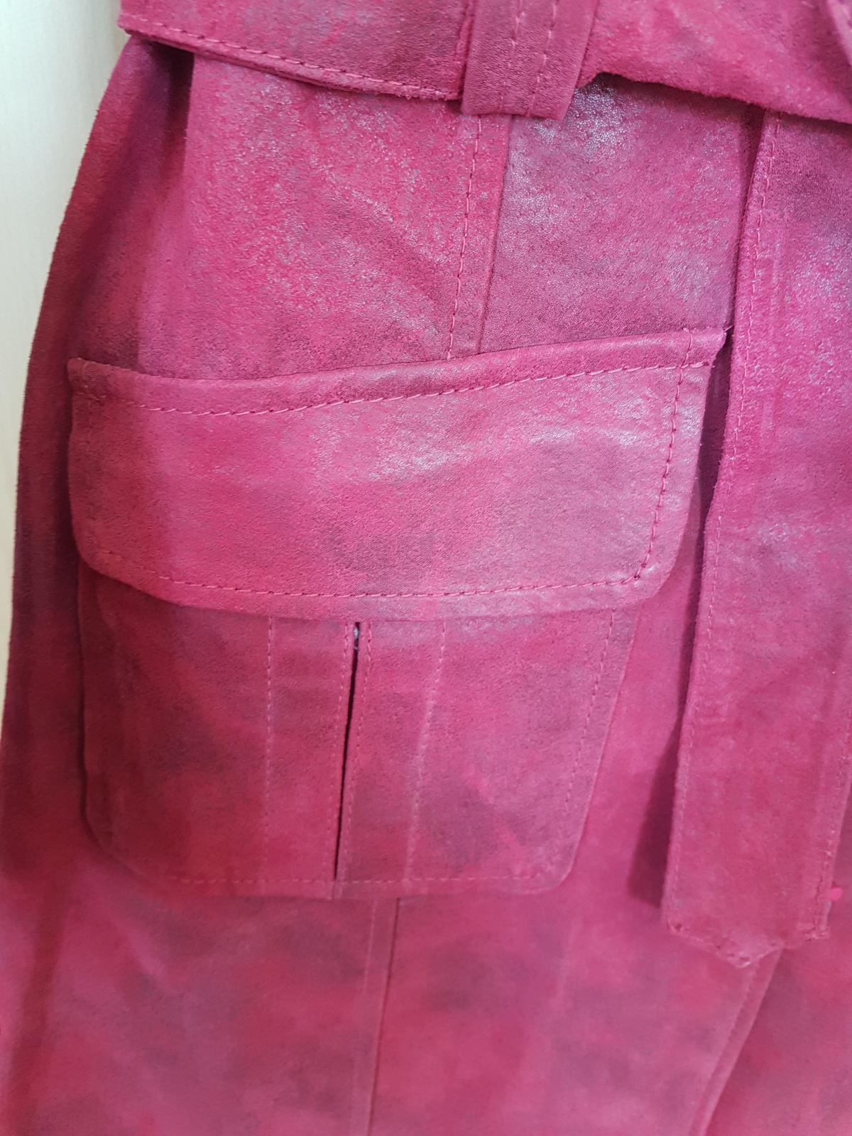 kožený kabát, nový - Obrázok č. 4