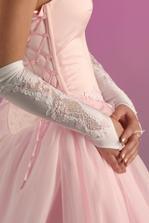růžové rukavičky-nádherné