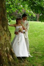 romantika v zámeckém parku