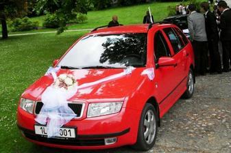manželovo autíčko