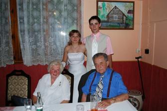 Manželův děda s babičkou