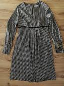 elegantné vzorované šaty , 42