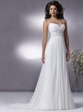 moje popolnočné... biele, ale doplnky budú asi fialové, aby ladili s farbou svadby :)