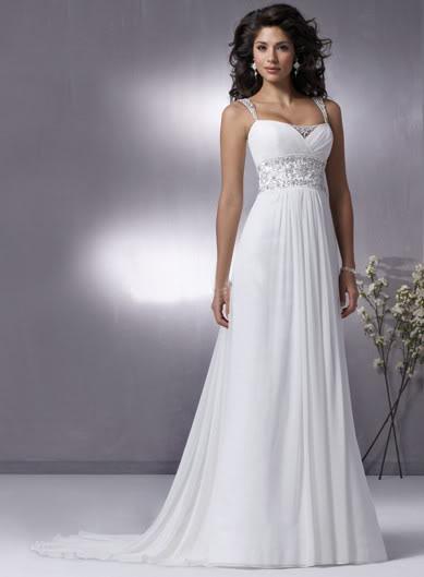 ... - moje popolnočné... biele, ale doplnky budú asi fialové, aby ladili s farbou svadby :)