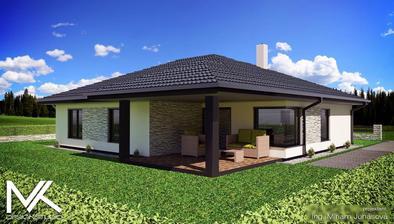 Terasa, ešte sa prerába strecha, lebo sa nám páči rovná škridla :)