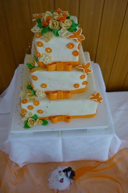 Zuzana{{_AND_}}Peter Minársky - Náš hlavní svatební dort