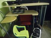 Přenosný bar + židle,