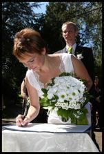 Podepisovala jsem se novým příjmením poprvé a moc mi to nešlo