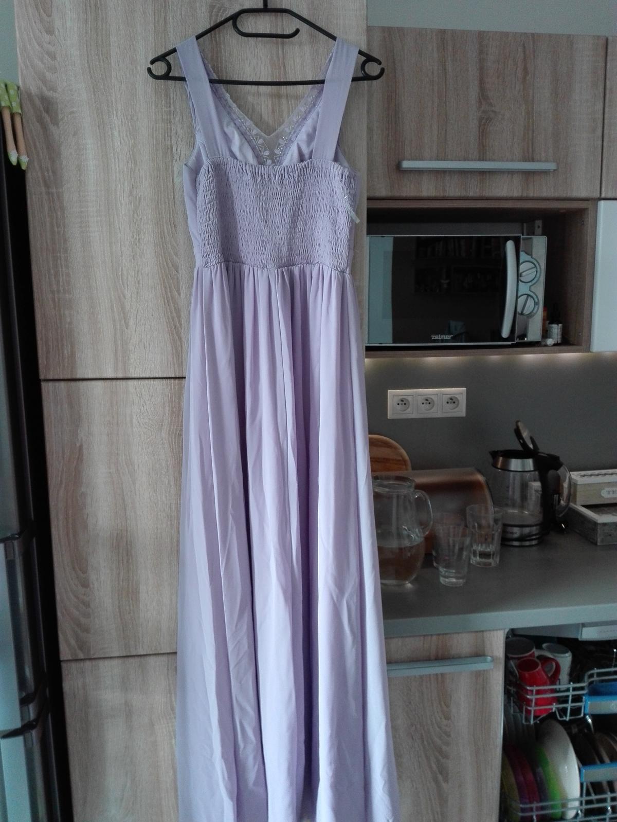 Spoločenské šaty (pre netehotné aj tehotné) - Obrázok č. 3